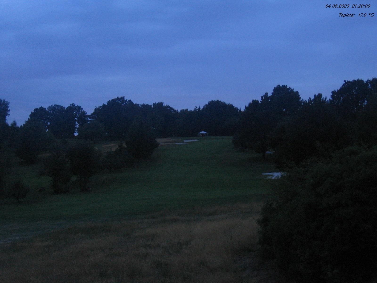 Aktualní snímek stanice Čertovo břemeno II