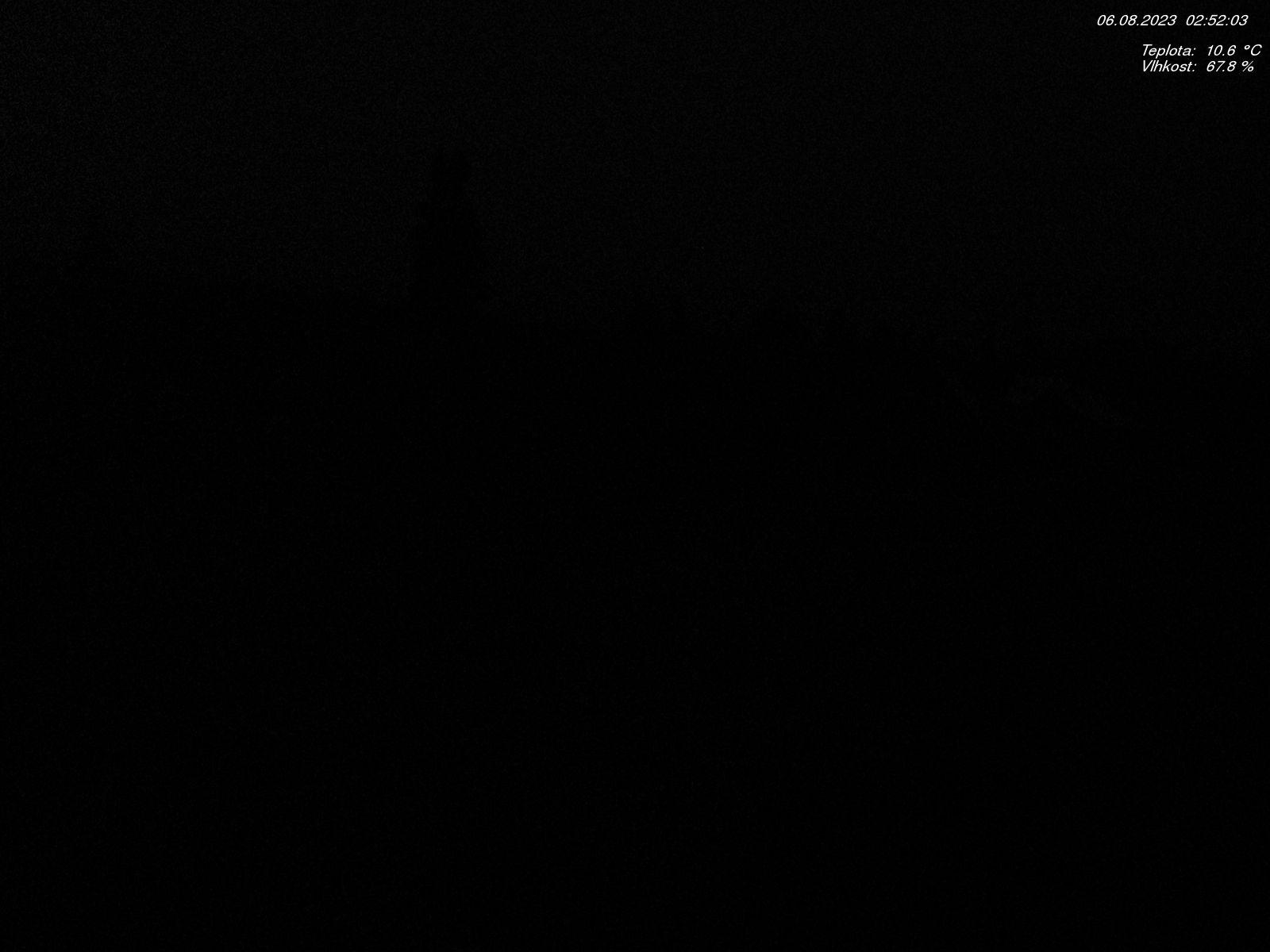 Aktualní snímek stanice Jizerka - rašeliniště